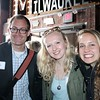 Tim Cigelske (Communication Specialist, MU Office of Marketing and Communication) and Marquette University students