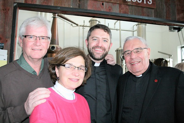 Edward Simmons & JoAnn Simmons (Parents), Joe Simmons SJ, Doug Leonardt, SJ (St. Camillus Jesuit Community, Superior)