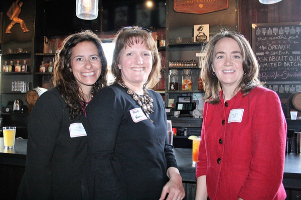 Lori Malett (Jesuit Partnership Council of Milwaukee), Michelle Werner and Ann Marie Wick