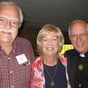 Richard and Margaret Mangan with Fr. George Winzenburg, SJ