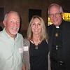 Tom and Nickie Donegan with Fr. George Winzenburg SJ
