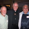 Tom Donegan, Fr. George Winzenburg SJ and Fr. Burnell Bisbee SJ