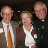 Dave Goelzer, Kathy McNally and Fr. George Winzenburg SJ