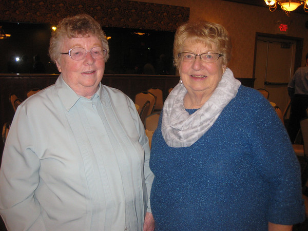 Nancy O'Brien and Mary Alice Wildt