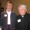 Mary Tlachac and Fr. Thomas Caldwell, SJ