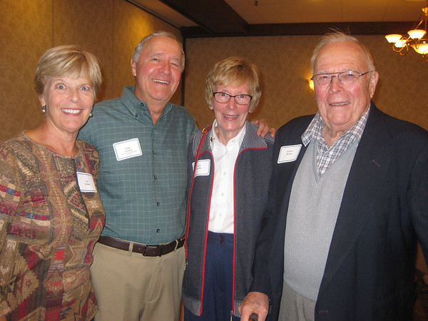 Sue & Luigi Schmitt with Mary & Norbert Tlachac