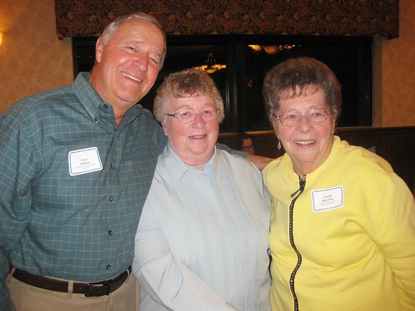Luigi Schmitt, Nancy O'Brien and Claudia Spaulding