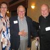 Norbert Tlachac and Fr. JJ O'Leary, SJ with guest
