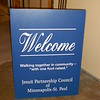 Welcome Sign - Jesuit Partnership Council of Minneapolis-St. Paul