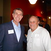 Dean Hilgers (Jesuit Partnership Council of Twin Cities, Member) with Al Bill (Advancement Regional Director/Twin Cities)