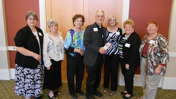 Al Bill - Guests with Fr  John Mossi
