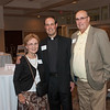 Joanne Carr, Fr. Mark Carr SJ (Socius, Wisconsin Province) and George Carr