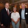Howard Craig (Provincial Assistant for Advancement), Peggy Donovan and Mike Donovan