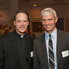 Fr. Tom Lawler SJ (Provincial, Wisconsin Province) and Dr. Michael Lovell (President, Marquette University)