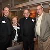 Fr. Mark Carr SJ (Socius, Wisconsin Province), Joanne Carr, Fr. Chris Manahan SJ, and George Carr