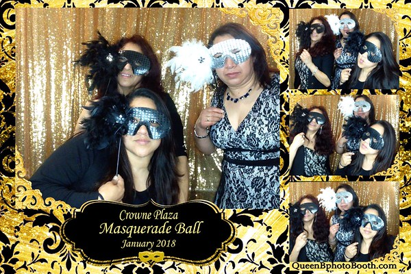 Crowne Plaza Employee Masquerade Ball