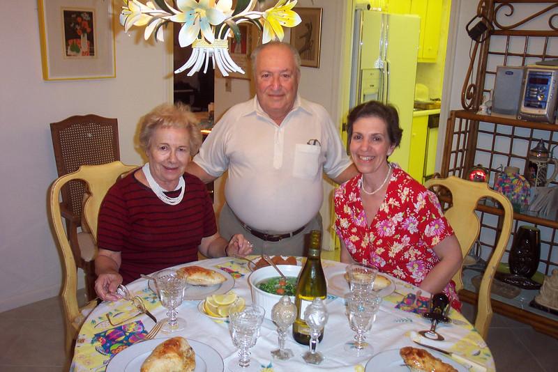 aunt Sue, uncle Joe and Angela