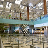 just before exiting Singapore's main airport Changi International - very clean and well organized but massively large