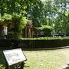 here is the memorial garden