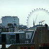 here is a zoom from my hotel window of the London Eye