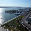 the harbor from my room in the Hilton Bayfront