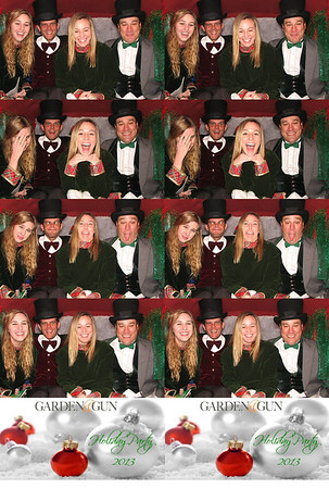 Garden and Gun Magazine Holiday Party
