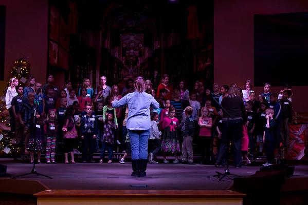 Christmas Musical Rehearsal 2011