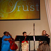 Sterling Strings consists of Grandmother Carmen Hensley, Granddaughter Rachelle Olinger and good friend and colleague Carol Ajibabi.