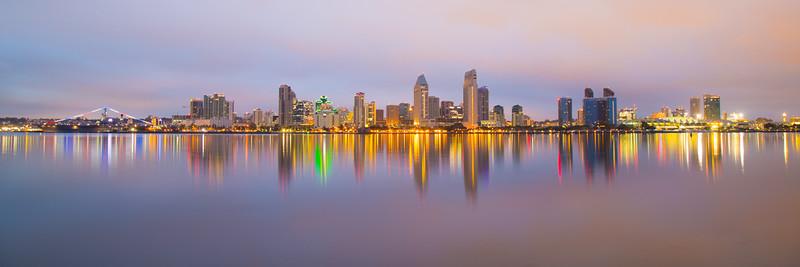 San Diego Skyline Predawn