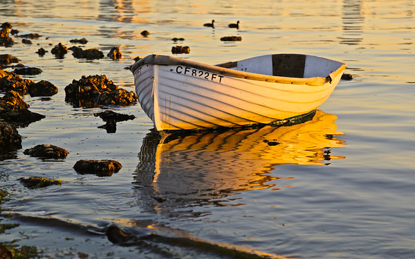 Coronado Dinghy at Sunrise