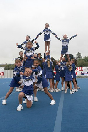 Marine World Mighty Mite Competition Cheer