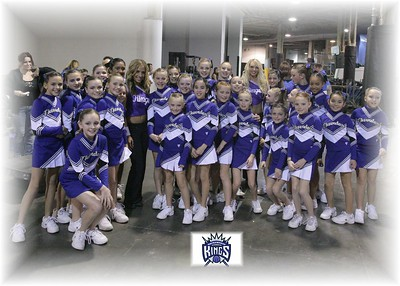 Pee Wee Open visits Sacramento Kings!