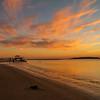 Sunset West Pier