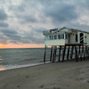 Image captured on the Outer Banks of North Carolina near the town of Rodanthe at sunrise in late June 2013.