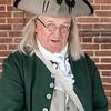 Benjamin Franklin Reenactor Philadelphia, Pennsylvania