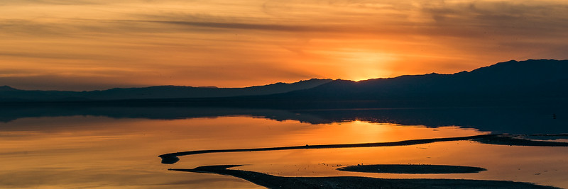 Bombay Beach Sunset by Nancy Varga