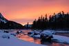Dawn On The Madison By Nancy Varga