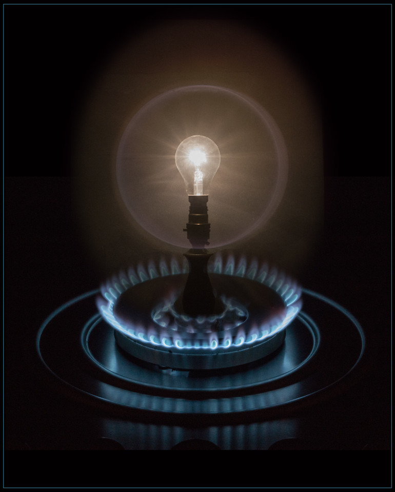 Frank Lodge CPAGB was awarded a Certificate of Merit for his Image, Gas Light