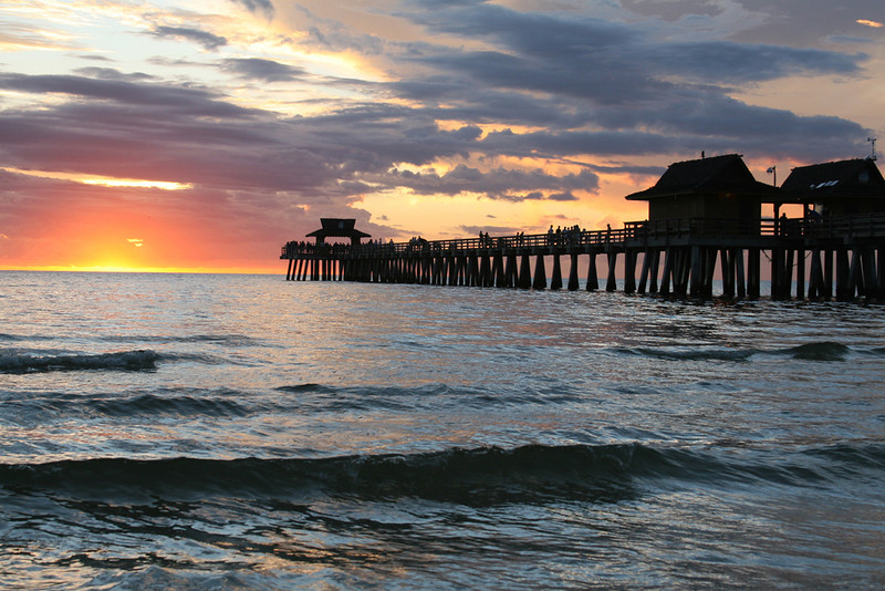 Yellow Ribbon<br /> Advanced Color Class<br /> Naples Pier<br /> Janet Bigalke