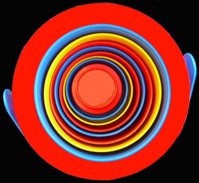 Yellow Ribbon<br /> Beginner Color Class<br /> Circles<br /> Ken Rathjen