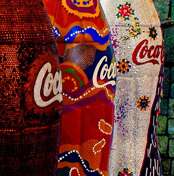 Blue Ribbon<br /> Beginner Color Class<br /> Coke Bottles<br /> Nancy Springer