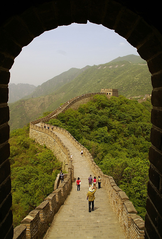 Blue Ribbon<br /> Beginner Color Class<br /> Great Wall of China<br /> Della Landheer