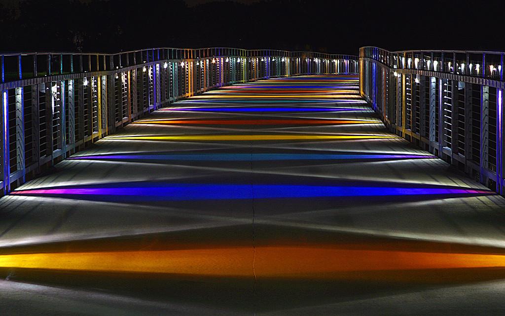 Yellow Ribbon<br /> Advanced Color Class<br /> The Bridge<br /> Mike Landwehr