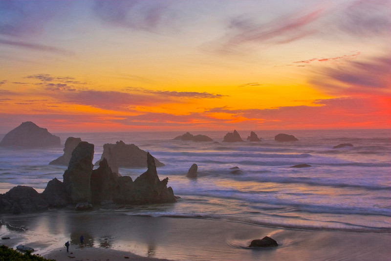 Blue Ribbon<br /> Beginner Color Class<br /> Bandon Beach<br /> Dave Garrison