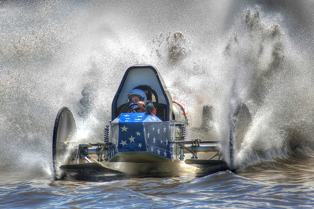 Blue Ribbon<br /> Advanced Color Class<br /> Swamp Buggy Racing<br /> Mike Landwehr