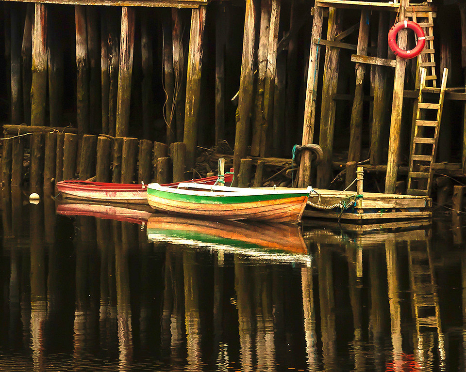 Yellow Ribbon<br /> Advanced Color Class<br /> Boats at the Wharf<br /> Dave Garrison