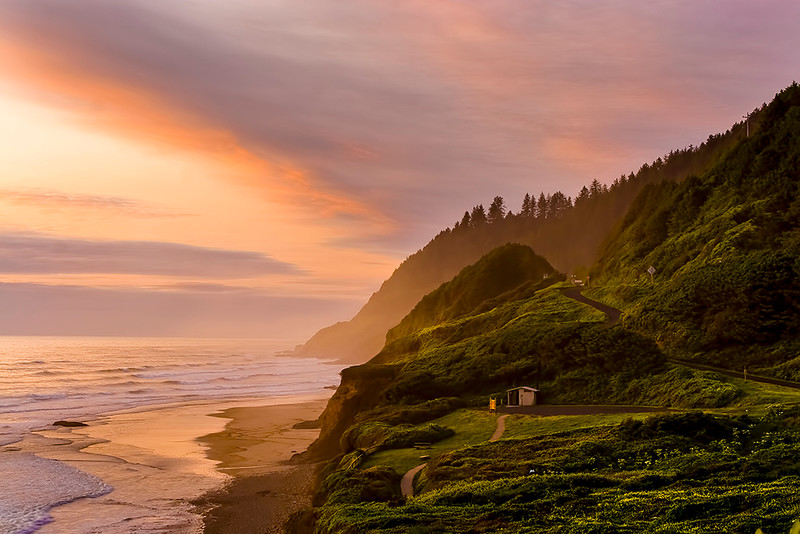 Digital Competition<br /> Yellow Ribbon<br /> Advanced Color Class<br /> Oregon Coast<br /> Dave Garrison
