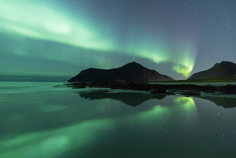 Projection Competition<br /> Yellow Ribbon<br /> Advanced Color Class<br /> Lofoten Lights<br /> Alan Esplin
