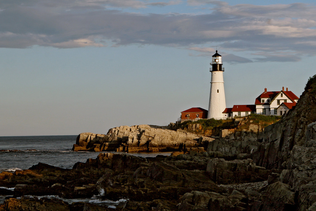 First Place<br /> Portland ME Headlight<br /> Janet Bigalke