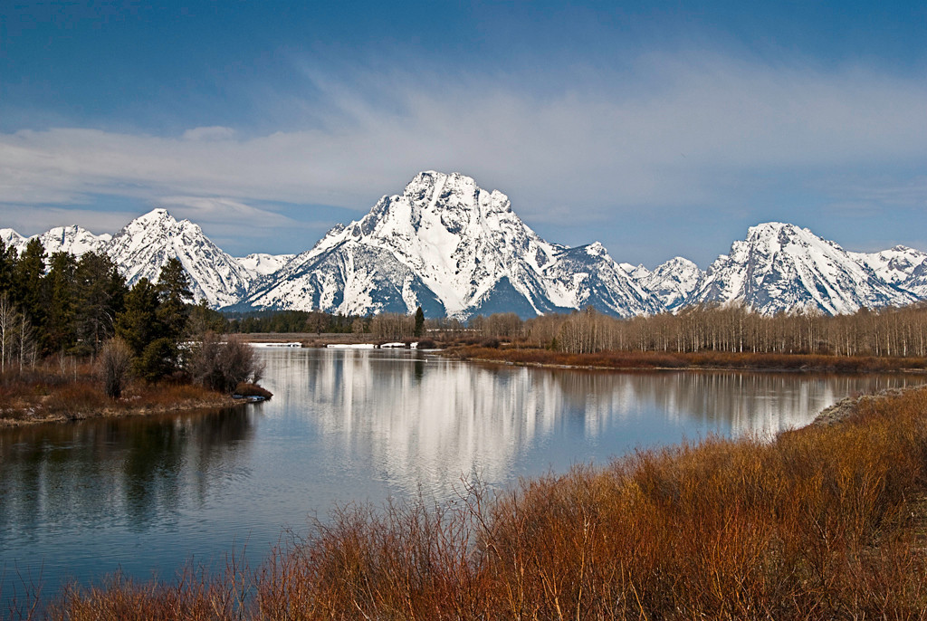 Third Place<br /> The Tetons<br /> Gail Frazee
